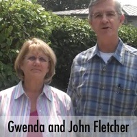 John and Gwenda Fletcher
