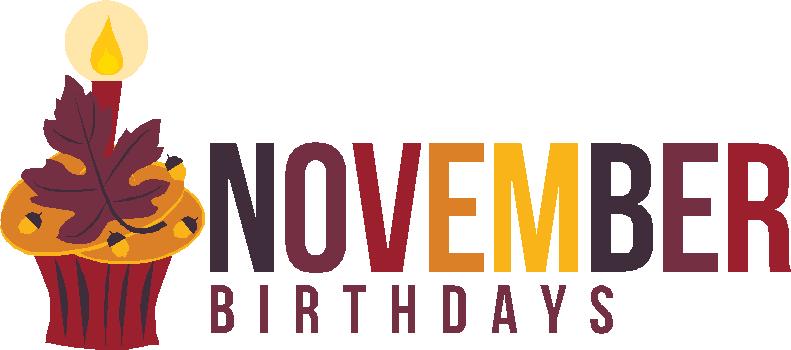 Image result for November birthdays