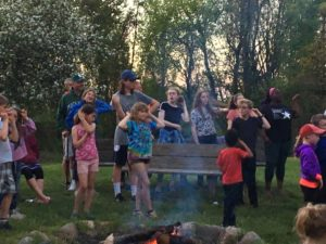 camp fire fun image